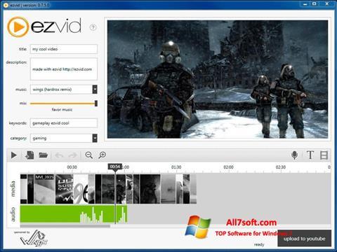 Zrzut ekranu Ezvid na Windows 7