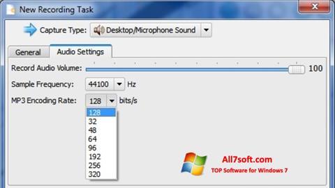 Zrzut ekranu SMRecorder na Windows 7
