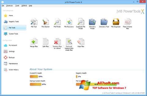 Zrzut ekranu jv16 PowerTools na Windows 7
