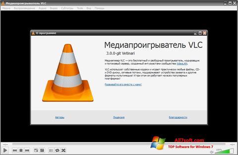 Zrzut ekranu VLC Media Player na Windows 7