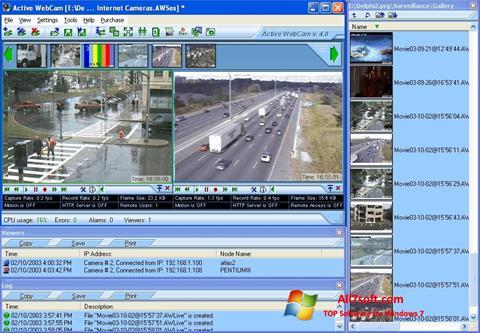 Zrzut ekranu Active WebCam na Windows 7